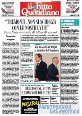 Il Fatto Quotidiano ( 22,23 10 2009 )