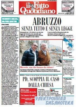Il Fatto Quotidiano ( 21 10 2009 )