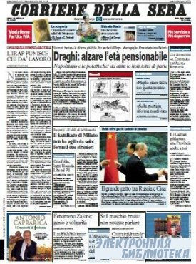 Corriere Della Sera  ( 14,15 10 2009 )