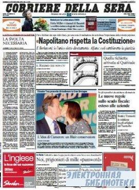 Corriere Della Sera  ( 09 10 2009 )
