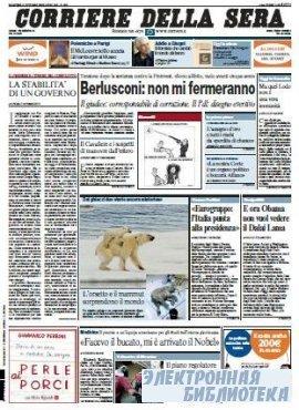 Corriere Della Sera  ( 05,06 10 2009 )