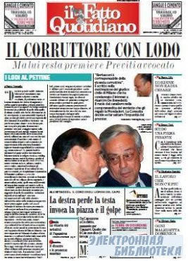 Il Fatto Quotidiano ( 06 10 2009 )