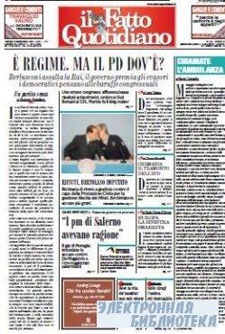 Il Fatto Quotidiano ( 29,30 09 2009 )