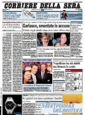 Corriere Della Sera  ( 29-30 09 2009 )