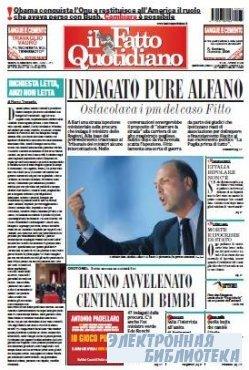 Il Fatto Quotidiano ( 25 09 2009 )