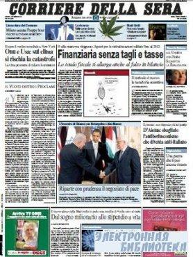 Corriere Della Sera  ( 23 09 2009 )