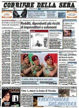 Corriere Della Sera  ( 20,21 09 2009 )