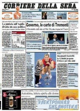 Corriere Della Sera  ( 15 09 2009 )