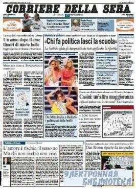 Corriere Della Sera  ( 14 09 2009 )