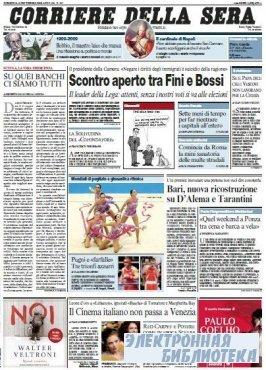 Corriere Della Sera  ( 13 09 2009 )