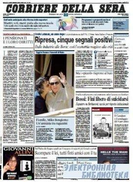 Corriere Della Sera  ( 12 09 2009 )