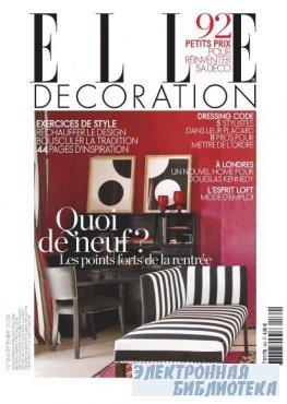 ELLE Decoration #184 (september 2009 / France)