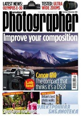 Amateur Photographer  22 ноября 2008