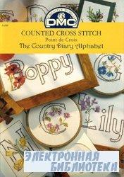 DMC P5085. The country diary alphabet