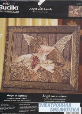 Bucilla 43731 Angel with lamb