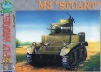 Fly Model №65. Легкий танк M3