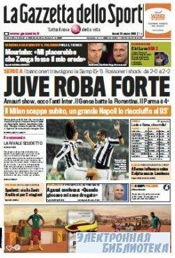 La Gazzetta dello Sport ( 29 10 2009 )