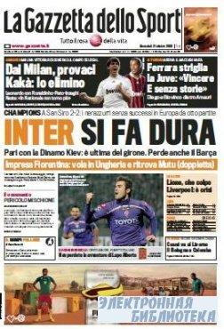 La Gazzetta dello Sport ( 21 10 2009 )