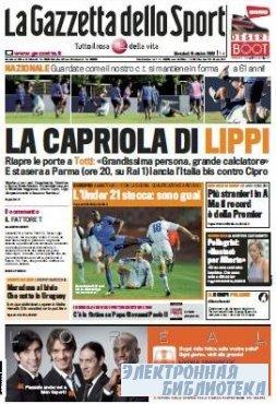 La Gazzetta dello Sport ( 14,15 10 2009 )