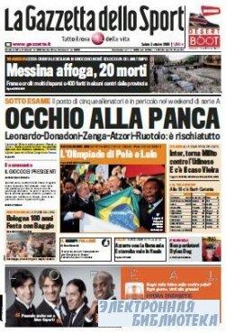 La Gazzetta dello Sport ( 03 10 2009 )