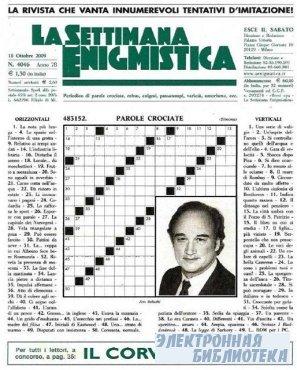 La Settimana Enigmistica № 4046 2009