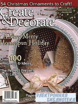 Create & Decorate - December 2009