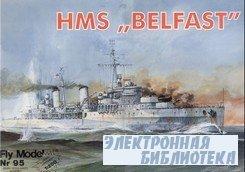 """Fly Model 095 - HMS """"Belfast"""""""