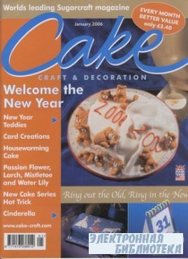 Cake Craft & Decoration - January 2006