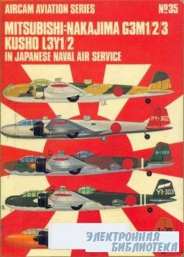 Mitsubishi Nakajima G3M1/2/3 Rikko L3Y1/2 in Japanese Naval Air Service