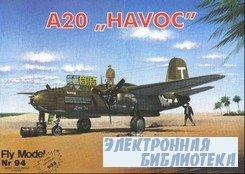 "Fly Model 094 - A20 ""Havoc"""