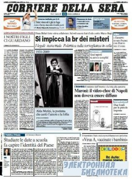 Corriere Della Sera  ( 02 11 2009 )