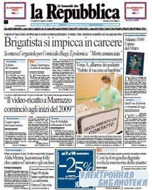 La Repubblica ( 02 11 2009 )