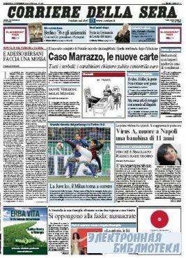 Corriere Della Sera  ( 01 11 2009 )
