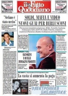 Il Fatto Quotidiano ( 31 10 2009 )