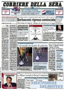 Corriere Della Sera  ( 30 10 2009 )