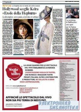 Corriere Della Sera  ( 29 10 2009 )