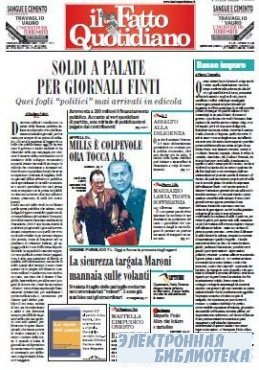 Il Fatto Quotidiano ( 28 10 2009 )