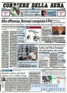 Corriere Della Sera  ( 26,27 10 2009 )