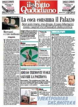 Il Fatto Quotidiano ( 27 10 2009 )