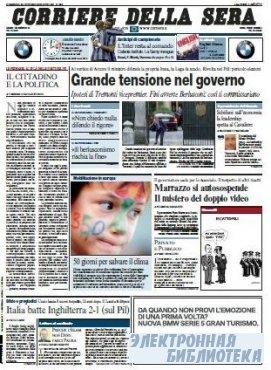 Corriere Della Sera  ( 25 10 2009 )