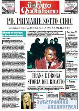 Il Fatto Quotidiano ( 25 10 2009 )