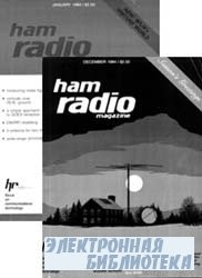 Ham radio magazine №1-12, 1984