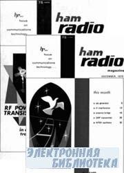 Ham radio magazine №1-12, 1970