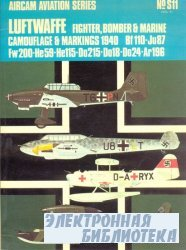 Luftwaffe Fighter,Bomber & Marine Camouflage & Markings 1940 vol.2