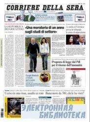 Corriere Della Sera  ( 12,13 11 2009 )