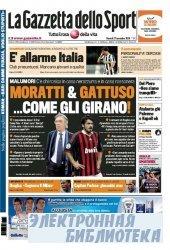 La Gazzetta dello Sport ( 27 11 2009 )