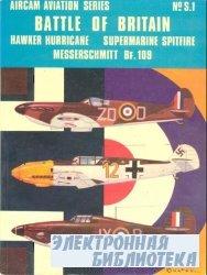 Battle of Britain. Hawker Hurricane, Supermarine Spitfire, Messerschmitt Bf ...