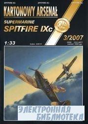 Spitfire IXc-Halinski Kartonowy Arsenal (3`2007)