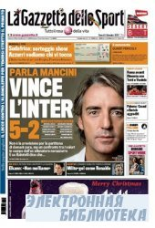 La Gazzetta dello Sport ( 04 12 2009 )