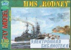 Fly Model №130 - линкор HMS Rodney